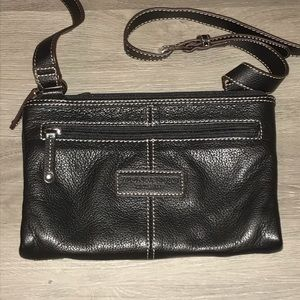 Tignanello black crossbody